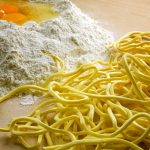 Pasta all'uovo alla Chitarrina all'abruzzese