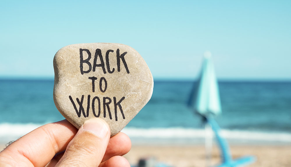 7 tips to get over the post-vacation blues