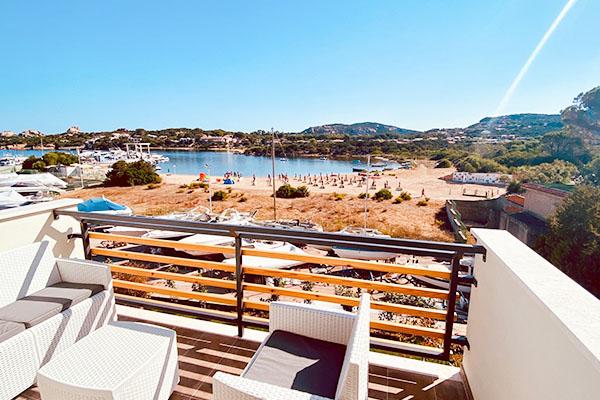 Spiaggia privata del Club Esse Cala Bitta