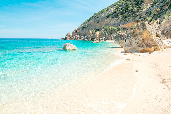 The marvellous Cala Mariolu beach