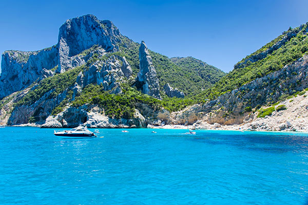 Cala Goloritze by the sea
