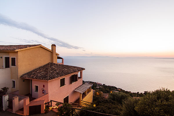 Panoramic view outside Club Esse Torre delle Stelle