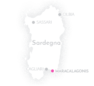 Mappa Residence Torre delle Stelle Maracalagonis Sardegna