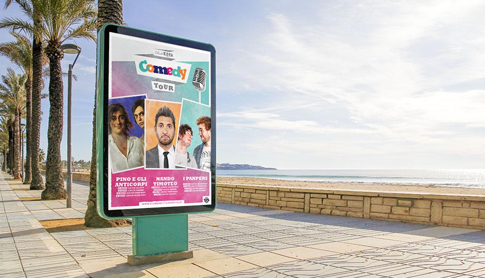 Club Esse Comedy Tour: mare, vacanze e tante risate