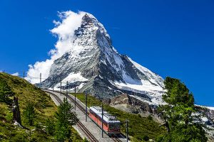 The summit of the Matterhorn