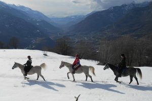 Horseback riding in Valle d'Aosta