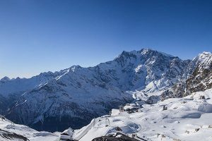 View of Monte Rosa