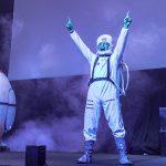 Il presentatore spaziale de La Festa