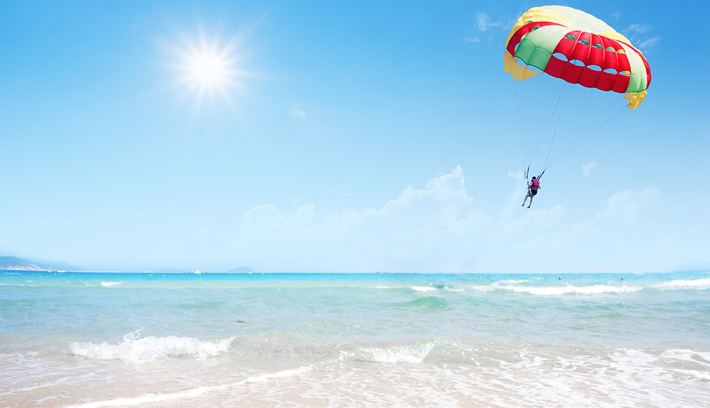 A parachute for your holidays with free cancellation without penalty