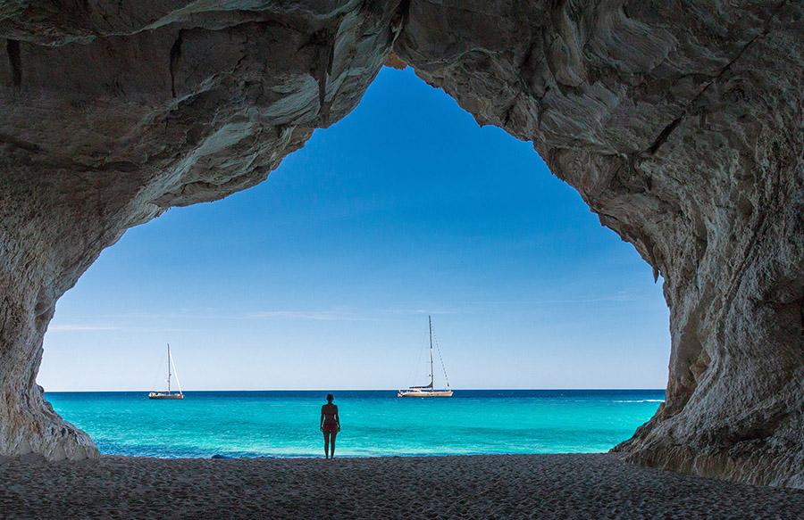 Grotta sul mare di Dorgali