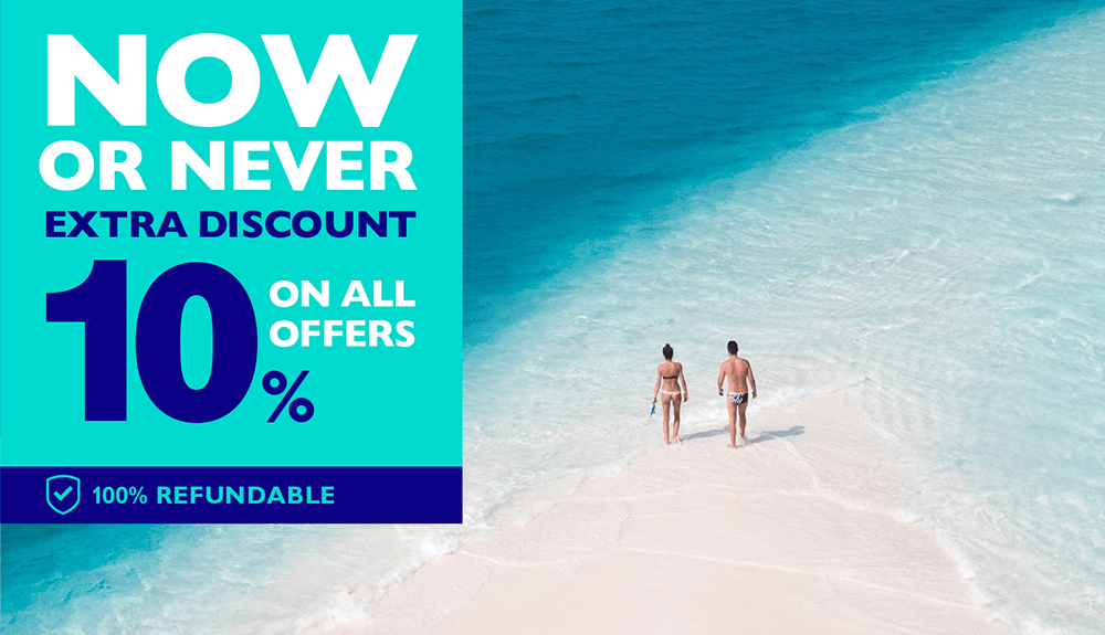 Now or never: extra 10% discount on everything