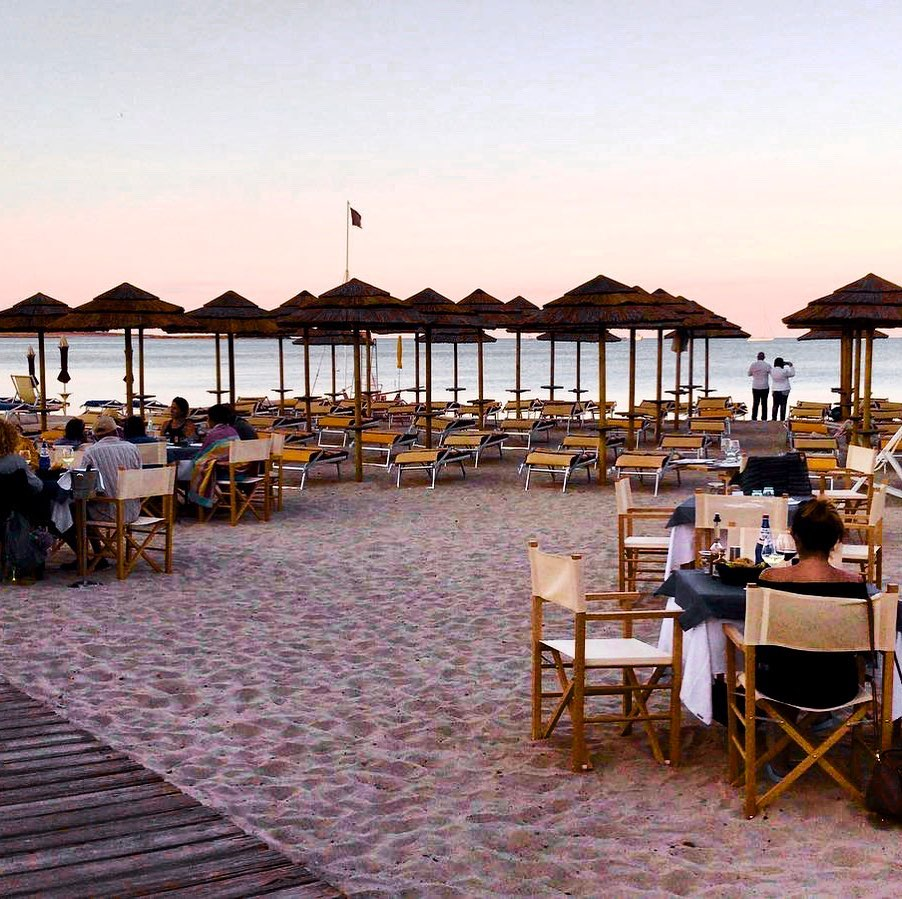 Dine facing sunset on the beach with seaview