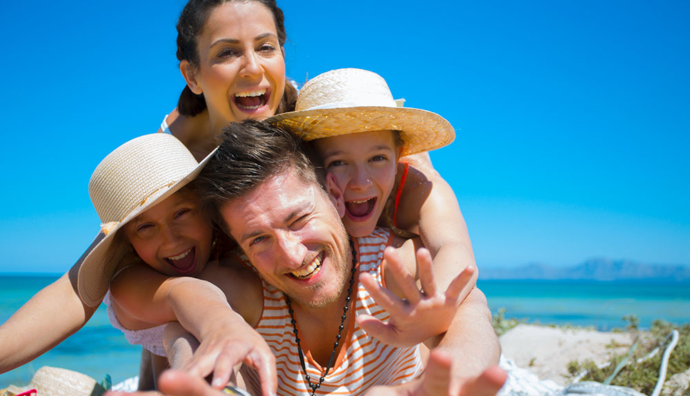 Tourist resorts for families in Santa Teresa, on holiday in Gallura with kids
